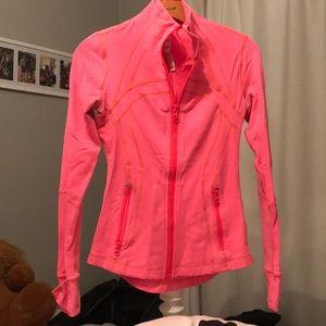 Lululemon pink jacket in size 4